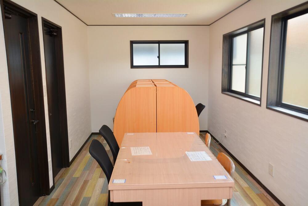上野数学教室の自習室