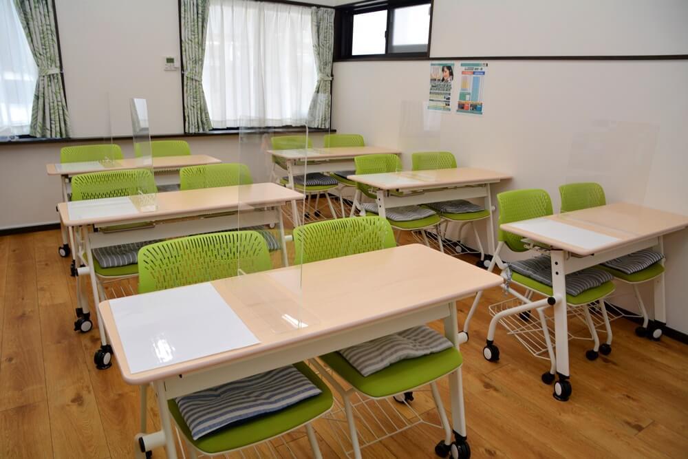 中学生・質問対応クラスの教室
